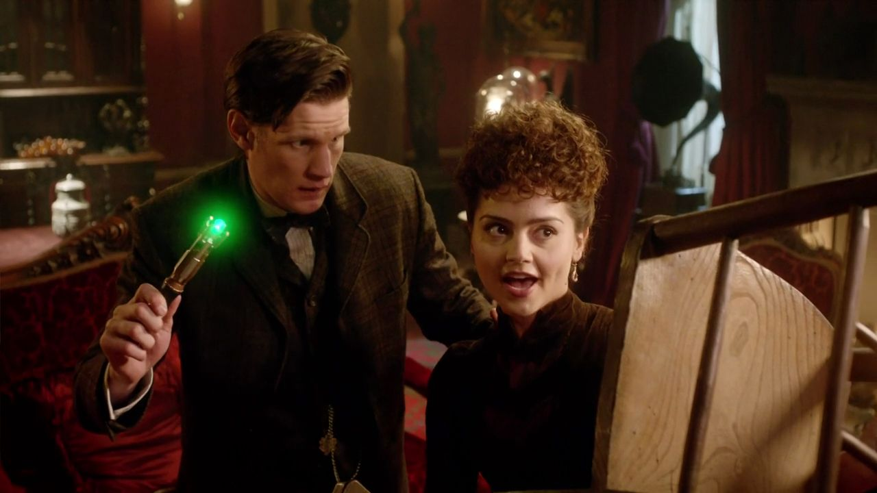 Doctor Who The Crimson Horror Confrontation 14