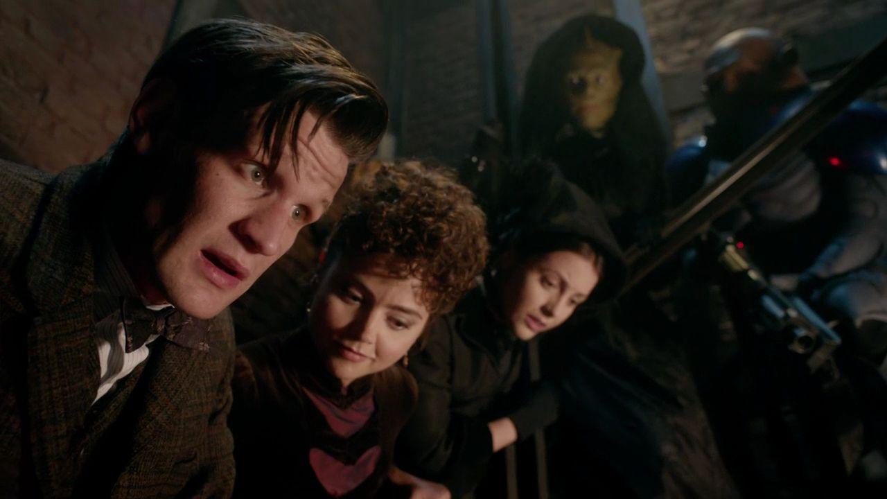 Doctor Who The Crimson Horror Confrontation 33
