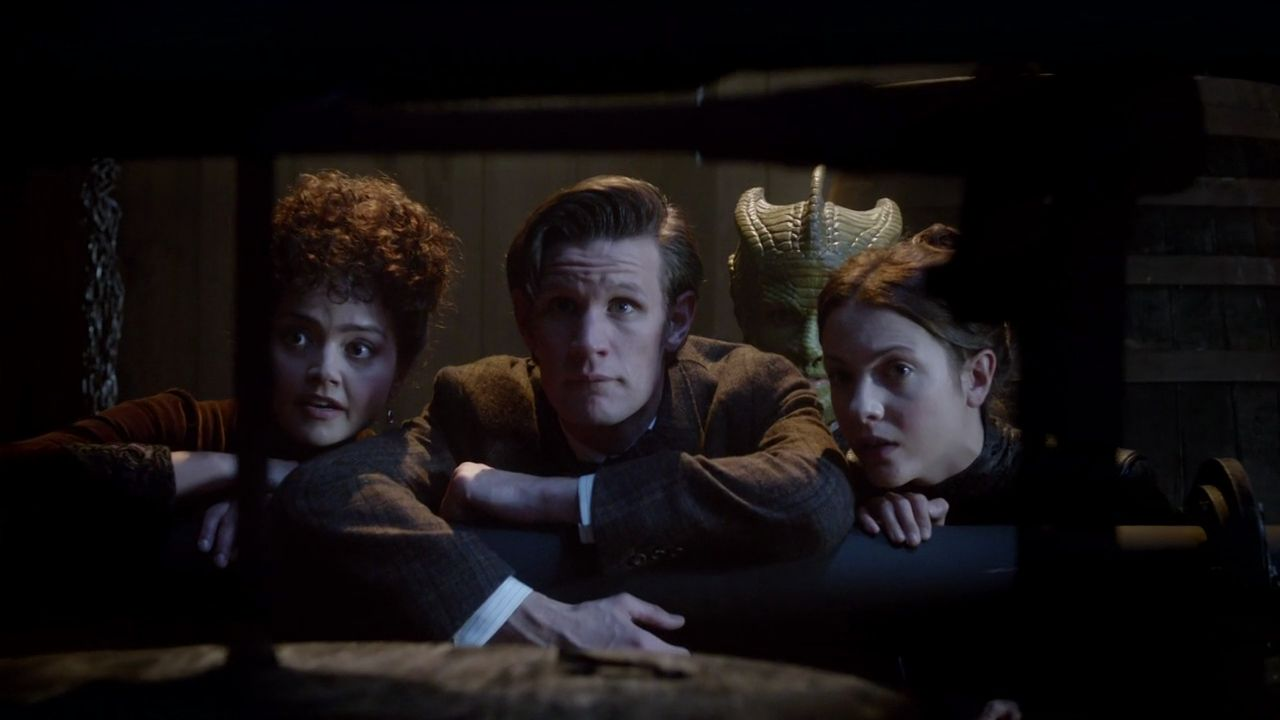 Doctor Who The Crimson Horror Escaping 13