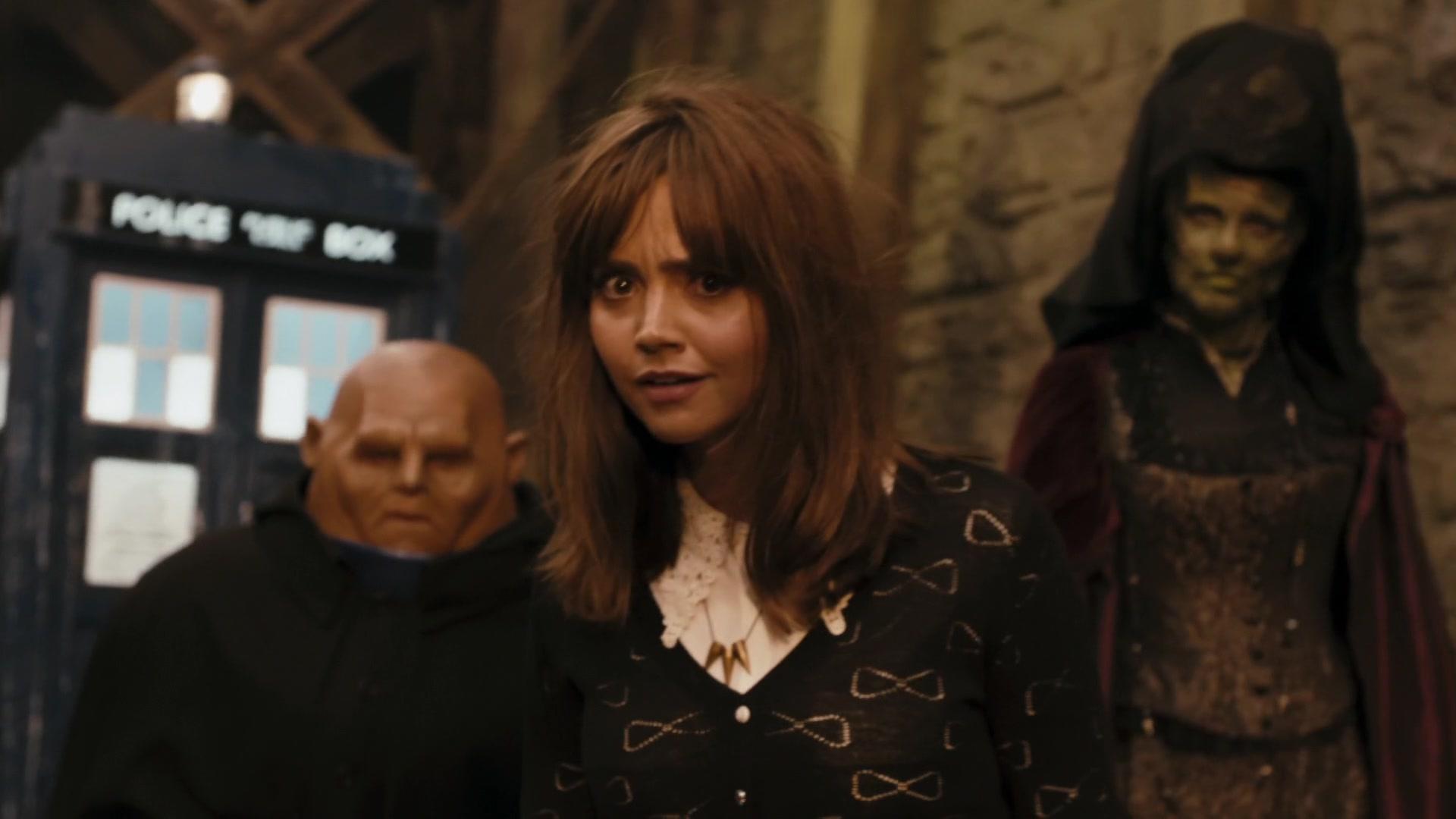 Doctor Who Deep Breath Disheveled Clara 2