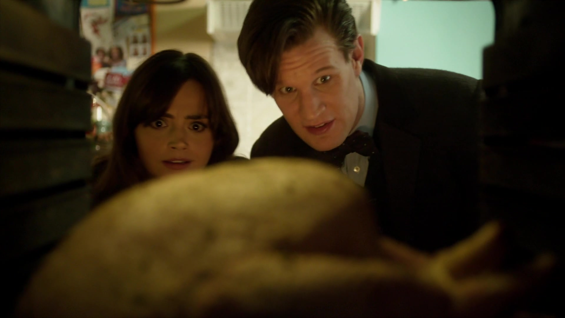 Doctor Who The Time Of The Doctor Clara Panicking 8