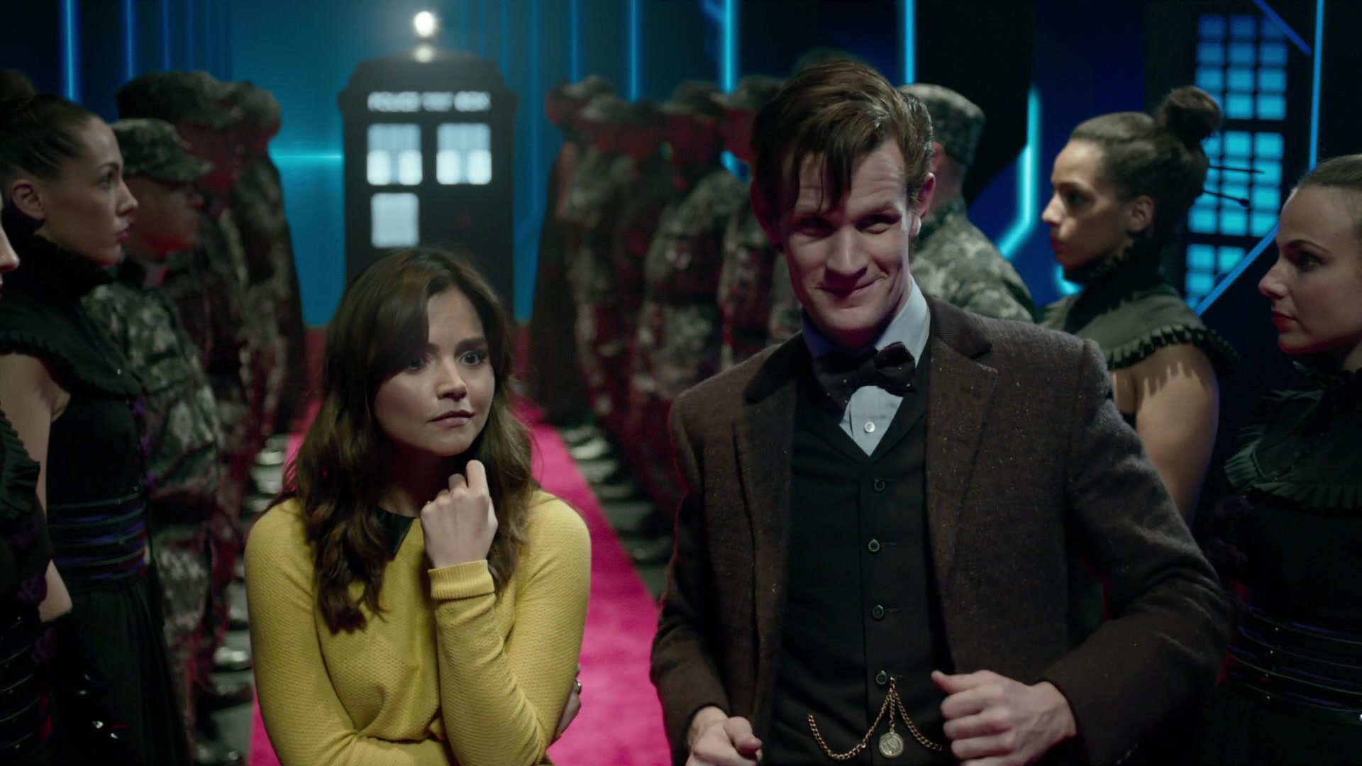 Doctor Who The Time Of The Doctor Papal Mainframe 7