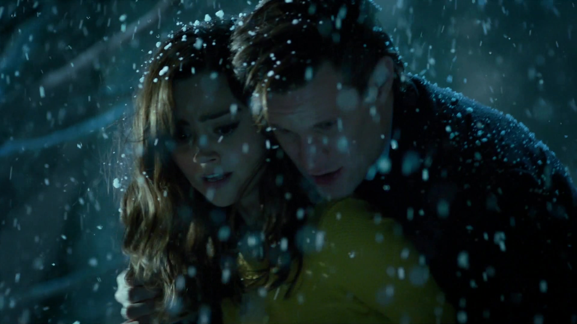 Doctor Who The Time Of The Doctor Snow Over Trenzalore 5